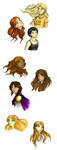PJO and HoO girls by akai1992