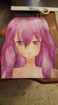 practice with watercolors!! by lily1119