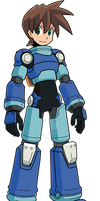 Megaman Volnutt WIP 2 by digital-strike