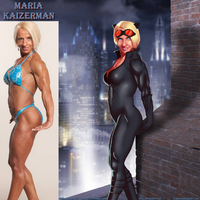 Catwoman Maria Kaizerman By Ulics by zenx007