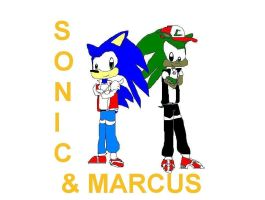 Sonic and Marcus by Marcusthehedgehog