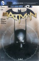 Batman Blank Cover with Original Art by menton3