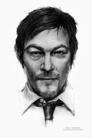 Norman Reedus by MeduZZa13