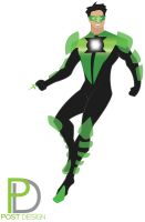 Green Lantern redesign by briuhn