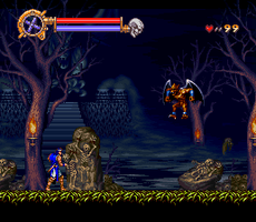 Castlevania: Dracula X - Richter vs Firebrand by Greasiggy