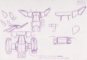 The Pod Tail and Nacelles A3.0 by FeralLion