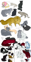 OP Kitties again Im not even sorry by Nire-chan
