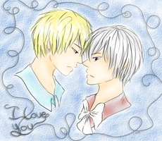 I love you_ NorIce by LaGil