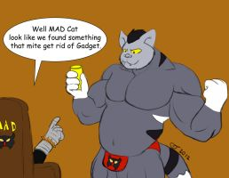 Furry Pop: Inspector Gadget MAD Cat by CaseyLJones