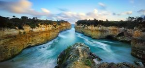 Loch ard Gorge by Michaelthien