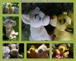 2005 Mini Hallmark Simba And Nala by DoloAndElectrik