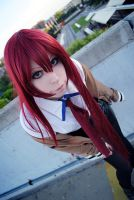 Kurisu cosplay_1 by Rociell