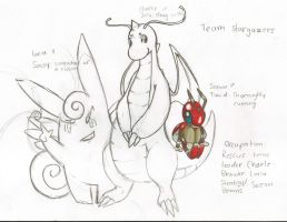 First concept sketch: Team Stargazers by SunnyLedian