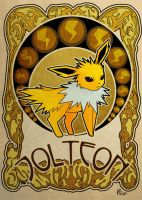 jolteon by ASTROPUNCH