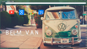 Belm Van for Google Chrome || Clari by RadiantDay
