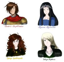 Young Founders Of Hogwarts by MissMayHirai
