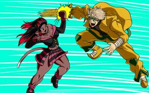 Ki-How vs Dio Brando by MilkyBody