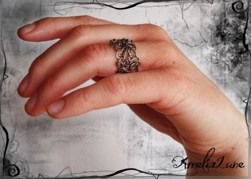 Unorganized Chaos Ring by AmeliaLune