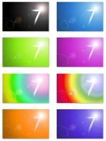 Windows 7 Logo wallpapers pack by skyangels