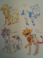 Free Adopts :CLOSED: by 0Silverskull0