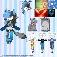 Ally Chizu The Buru Horned Wolf Ref.:new oc:. by Niut-LilJazzy