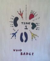 Wood Badge Painting by Dagonet85
