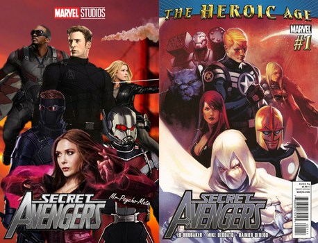 The Secret Avengers (Side-by-side) by Mr-Psycho-Mate