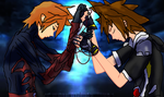 Evil-ven and sora-sister love by Absolhunter251