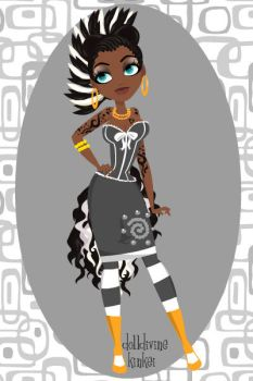 human Zecora Pin up maker deluxe by avrilfan1316
