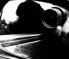 Objects In Mirror ARE Closer by Srod