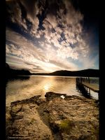 Dawn over Derwent lake by GMCPhotographics