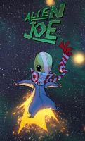 Alien Joe by drazebot