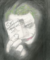 The Joker by MonkeyHeartless