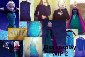 Elsa Coronation Cosplay WIP 2 by MishaCosplay
