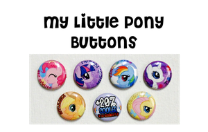 MLP_FiM_ButtonSample by wanabiEPICdesigns