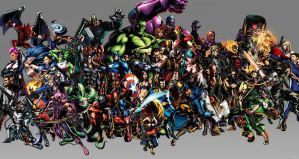 Marvel vs Capcom 3 Wp by igotgame1075