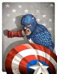 Captain America (InColors) by GHU4U