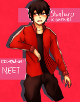 Shintaro Kisaragi (AKA I draw too much Kagepro) by GodlyAppleJuice