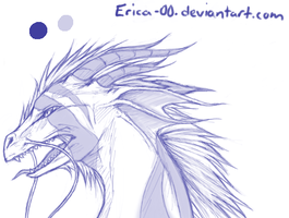 Paintchat Dragon by Erica-00
