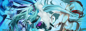 Facebook Cover - Hatsune Miku (Append Costume) by Latios77