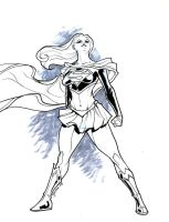 Supergirl ink 0809 by guinnessyde