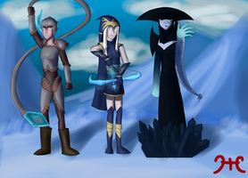 The queens of Frejord by AndYetNoBananas