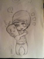 Louis and His carrots :) by BrokenLightbulb-san