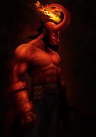 Hellboy painted Updated by MetGod