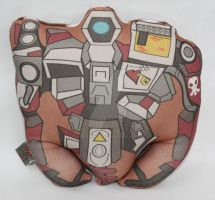 Deathtrap plush doll by Cyber-Scribe-Screens
