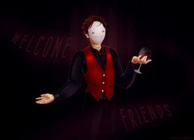 Welcome Friends by Caerulai