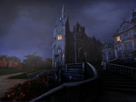 Haunted Mansion Matte Paint by SPyWorkz