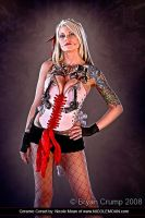Cameron models Ceramic Corset by thebryancrump
