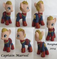 Captain Marvel by Roogna