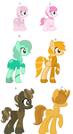 Gem Pony Offer To Adopts(open) by NeVerDark1211
